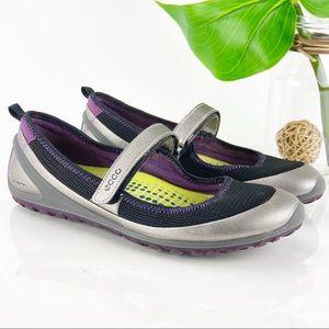 Ecco Biom Lite Mary Jane Sneaker Tennis Comfort